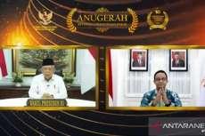 Wakil Presiden Ma'ruf Amin Imbau Pemda Anggarkan dana Memadai Untuk Keterbukaan Informasi