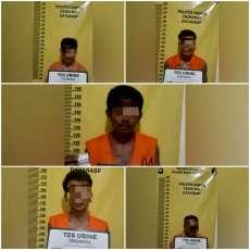 Maling Buah Kelapa Sawit, 5 Pelaku Ditangkap Polsek Bukit Kapur